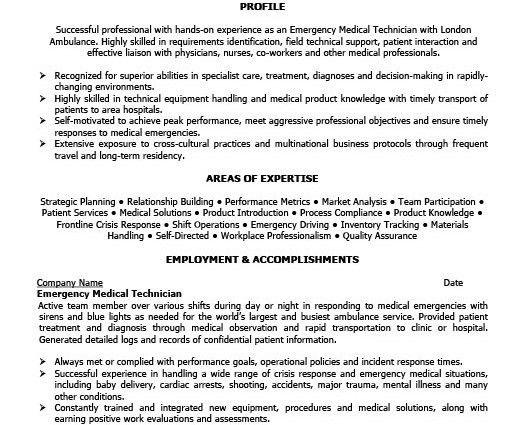 emt b resume sample emt resume samples resume cv cover letter - Emt Resume Sample