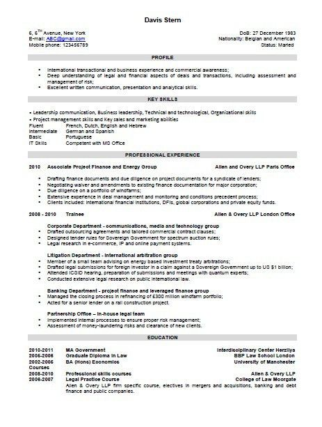 The Combination Resume Template, Format, and Examples