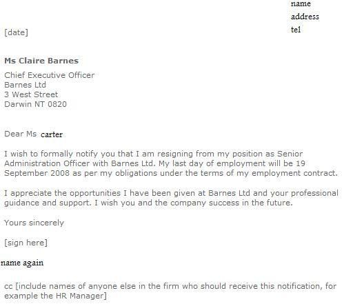 resignation draft letter gymnastic instructor cover letter event ...