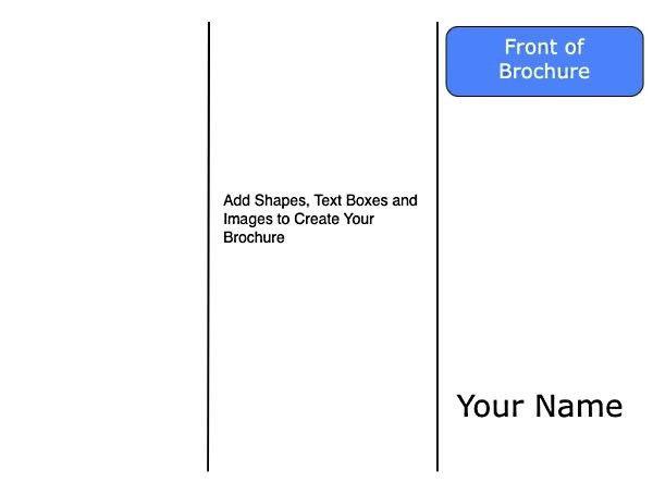 Google Docs Tri Fold Brochure Template - Business Plan Template