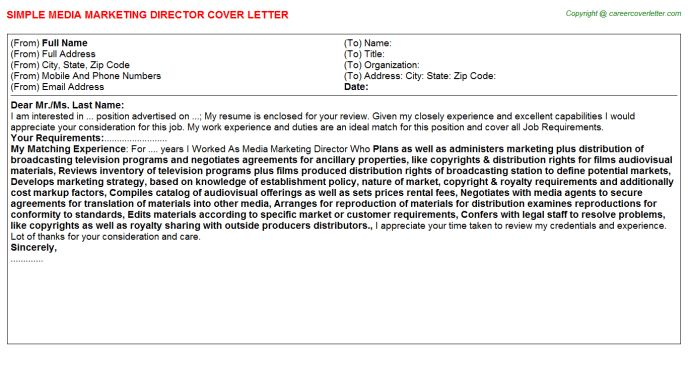 Marketing Director Assisted Living Cover Letters