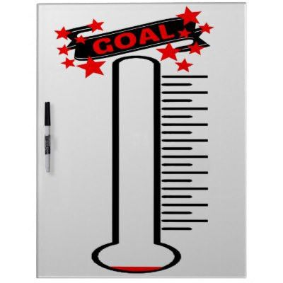 Re-useable Thermometer Dry-Erase Board | Zazzle.com
