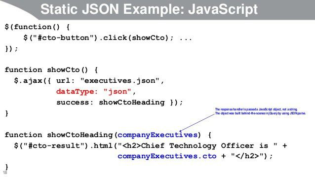 JavaScript and jQuery Programming Tutorial: jQuery Ajax Support: Adva…