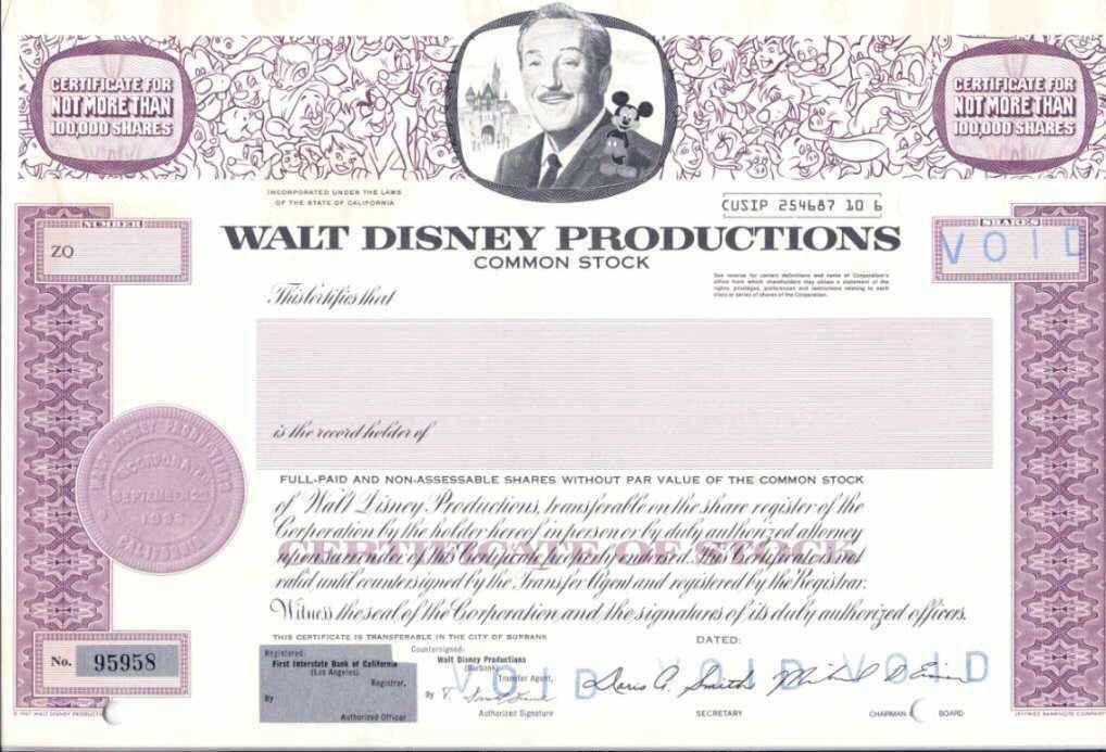 Walt Disney IPO Case Study