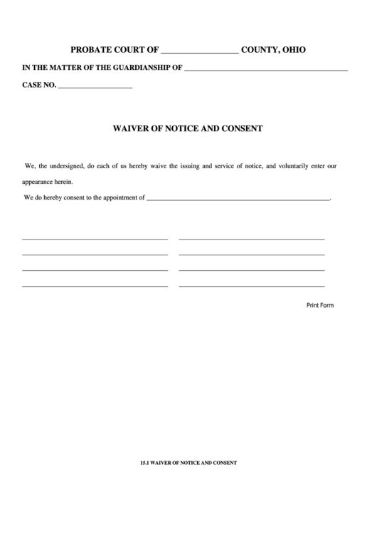 Beautiful Waiver Templates Pictures - Best Resume Examples for ...