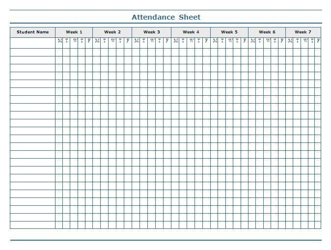 Best 25+ Attendance sheets ideas on Pinterest | Teacher planner ...