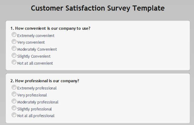 Customer Satisfaction Surveys - Obsurvey | Obsurvey - Free Online ...