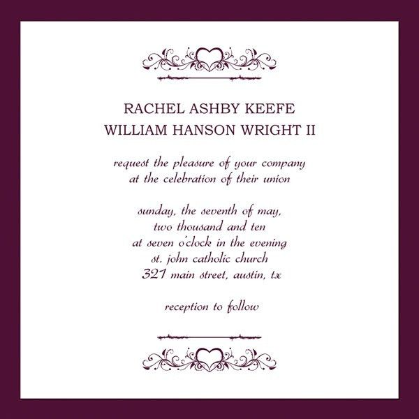 Wedding Invitations Email Template | wblqual.com