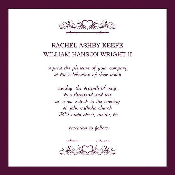 Wedding Invitations Email Template | wblqual.com
