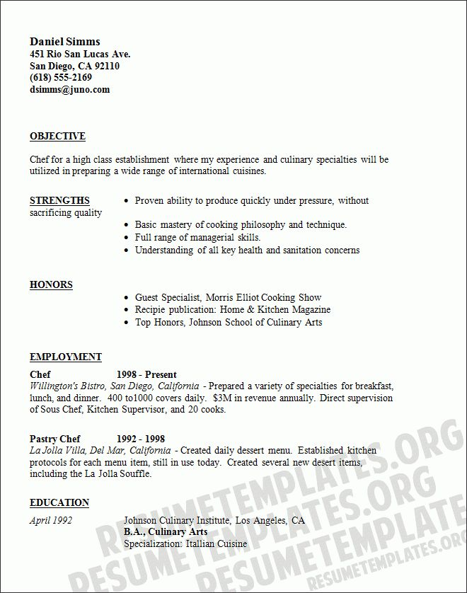 head chef resume 7 head chef cover letter 7 pictures to pin on ...