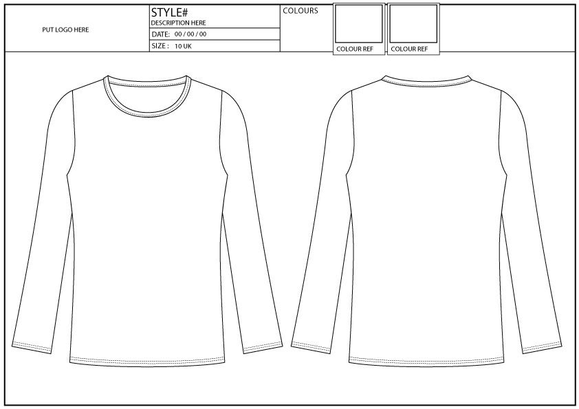 SKINNY FIT TEE, LONG SLEEVE, CREW NECK - Fashion Services HK