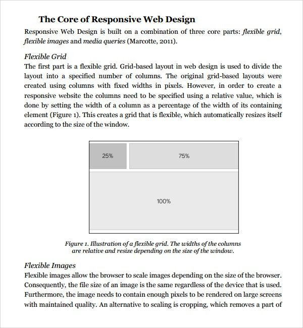 Sample Web Design Proposal Template - 8+ Free Documents in PDF, Word