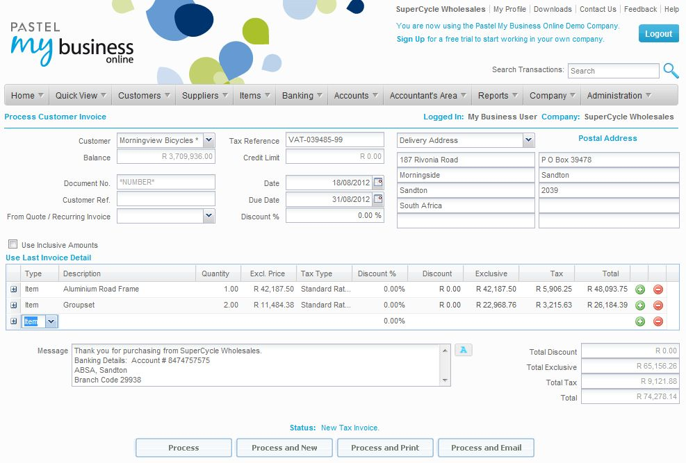 Sage One Accounting Pricing, Features, Reviews & Comparison of ...