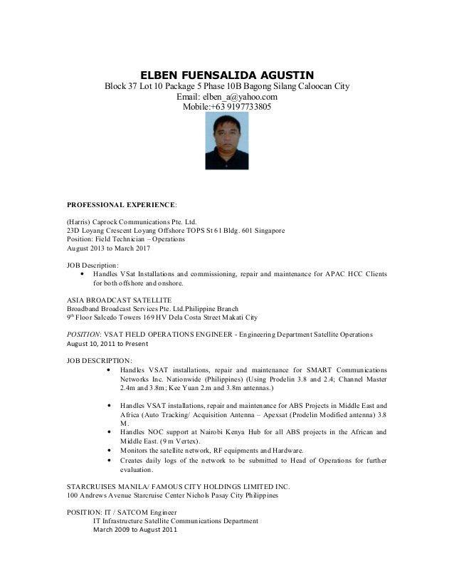 Resume Elben -2017
