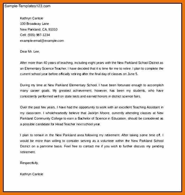 Retirement Letters | Jobs.billybullock.us