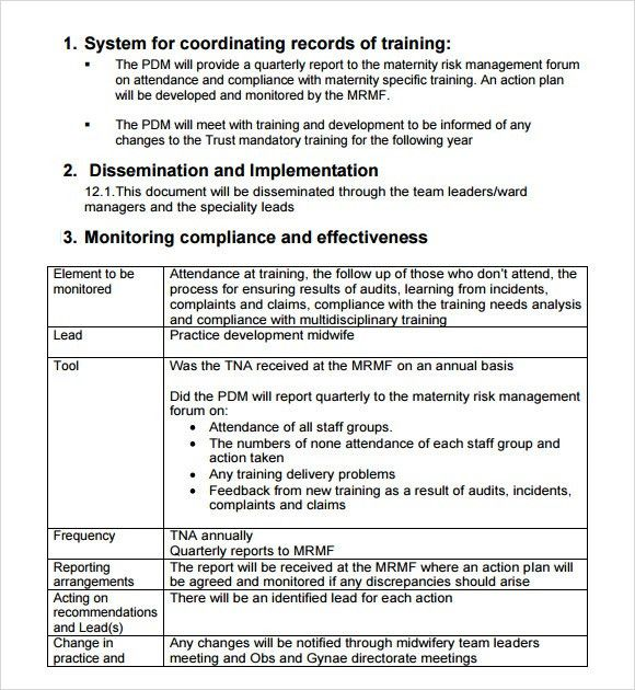 Training Feedback Template Training Evaluation Form 15 Download – Training Needs Assessment Template