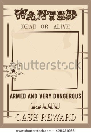 Wanted Poster Vector Stock Images, Royalty-Free Images & Vectors ...