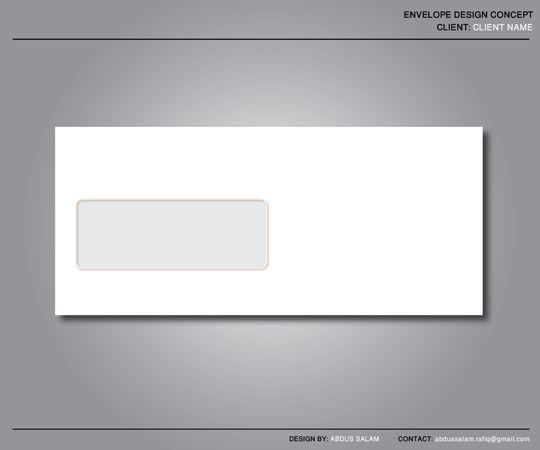 Envelope Design Template by Abdussalam on DeviantArt