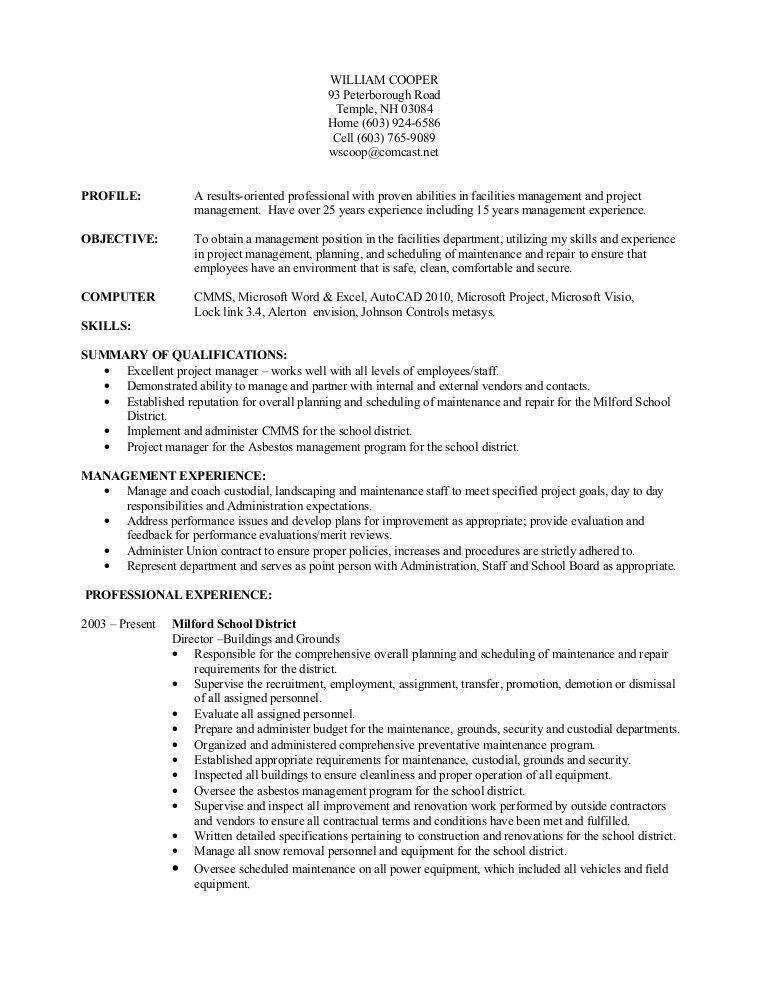 Resume Demonstrated Abilities - Contegri.com