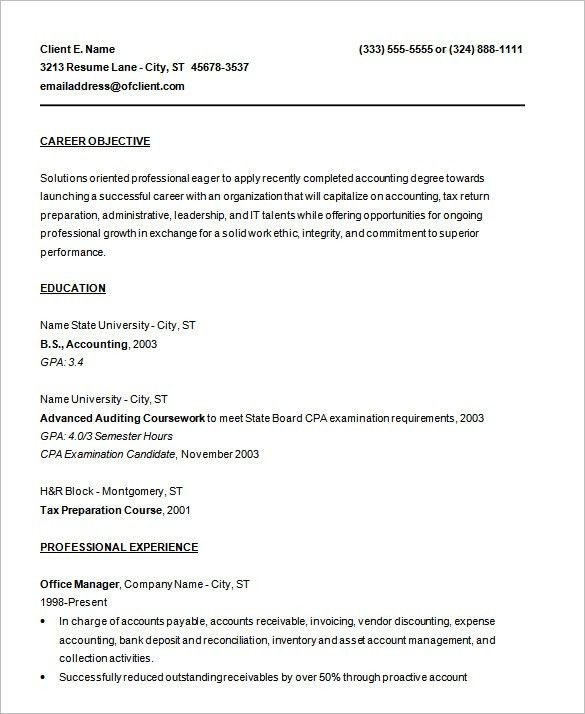 resume template 92 free word excel pdf psd format download - Sample Resume Doc