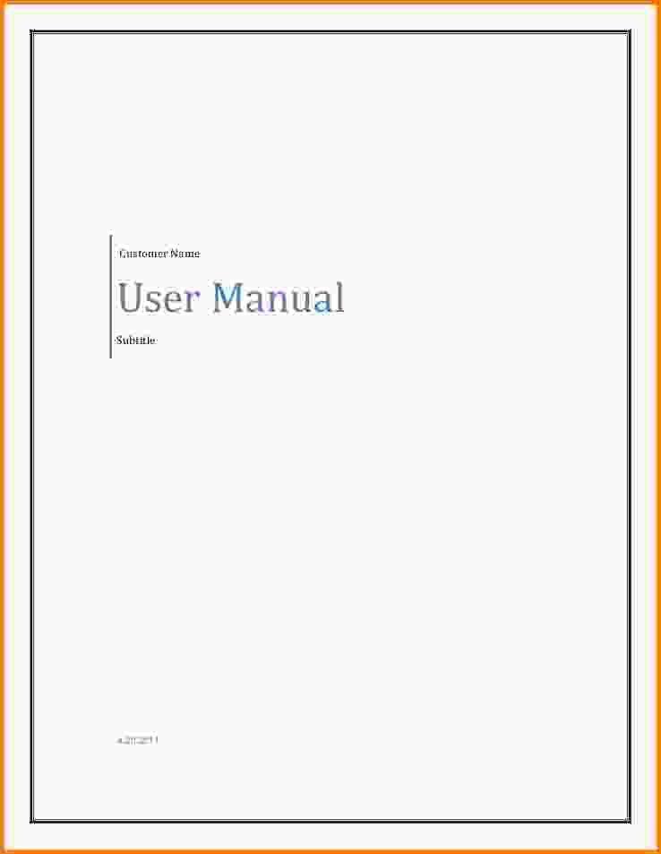 User Manual Template.template User Manual Rsn0rbur.gif - Letter ...