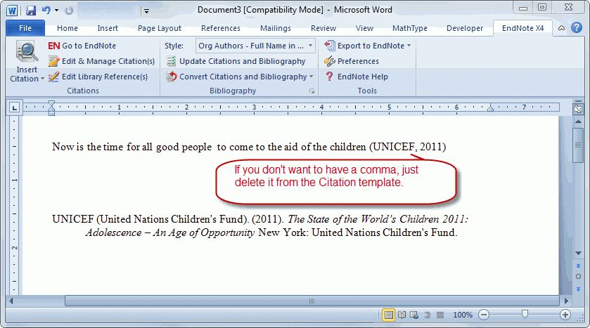 Awesome Use Abbreviated Organizational Author In In Text C...   Clarivate .  Microsoft Word References Template