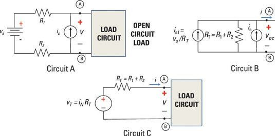 Find Thévenin and Norton Equivalent Circuits Using Source ...