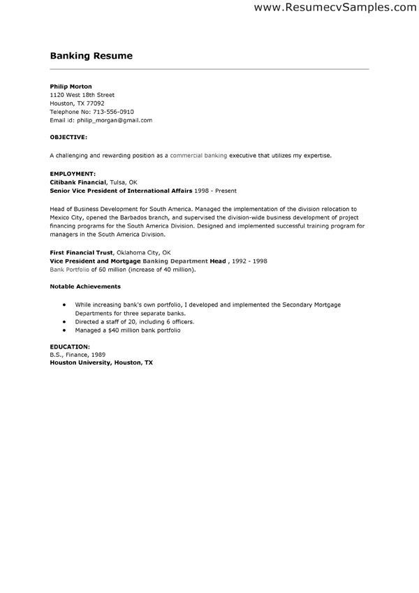 teller sample resume cover letter bank teller sample resume bank ...