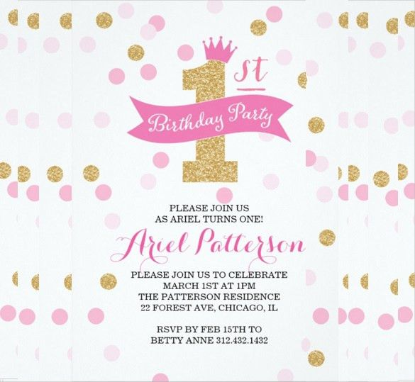 30+ Birthday Party Invitation Templates – Free Sample, Example ...