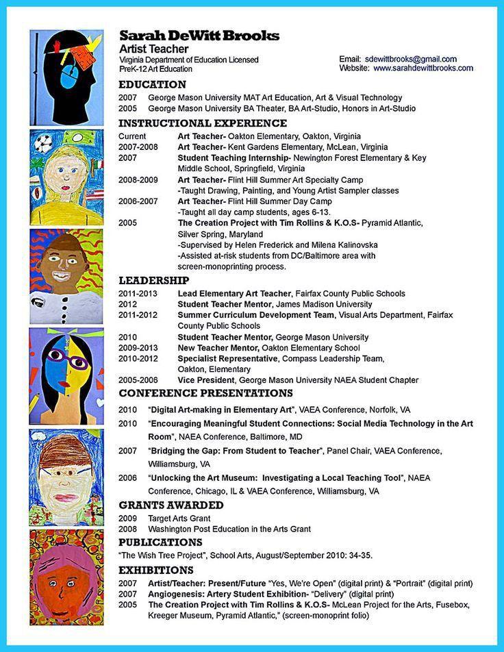 21 best resume and cover letter images on Pinterest | Teacher ...
