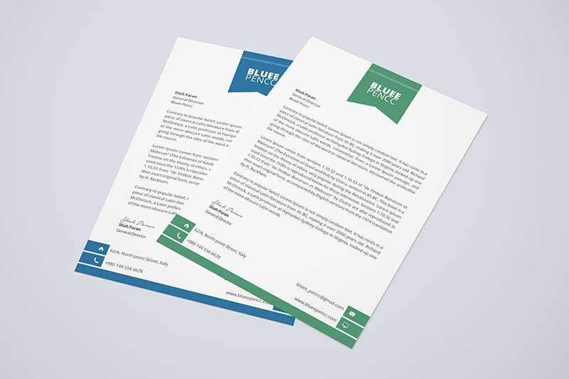 15+ Free Letterhead PSD Templates Download