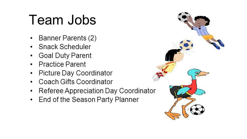 Team Parent Training Spring Team Parent Job Description Meet with ...