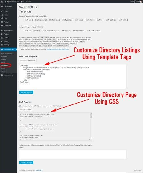How To Add A Staff Directory In WordPress - WPCompendium.org