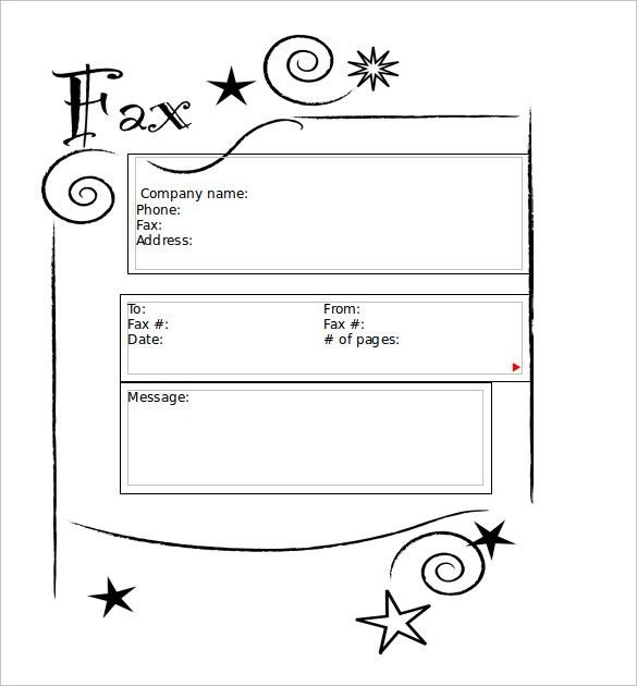 Fax Cover Sheet Sample. Free Fax Cover Letter Template Fax ...