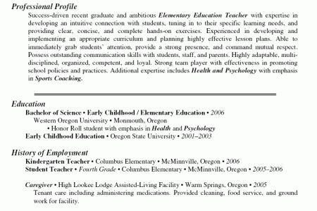 Pre K Teacher Resume Pre Kindergarten Teacher Resume Best Sample ...