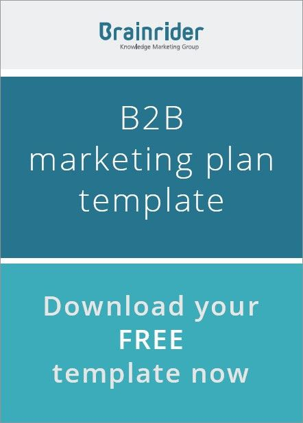 B2B Content Marketing Strategy Template - Brainrider