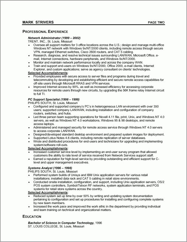 sample resume one general professional. best executive resume ...