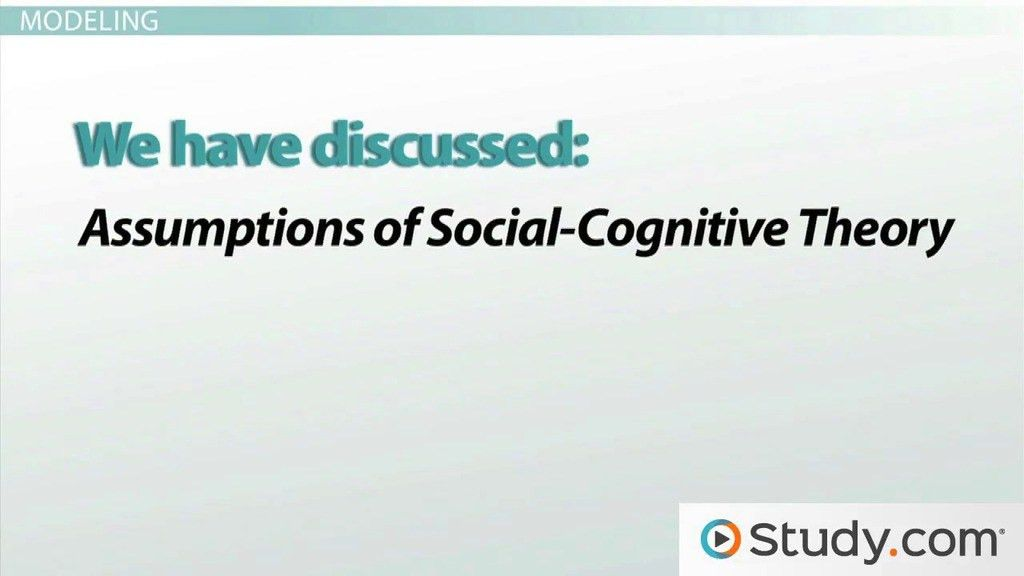 Social-Cognitive Learning Theory: Definition and Examples - Video ...