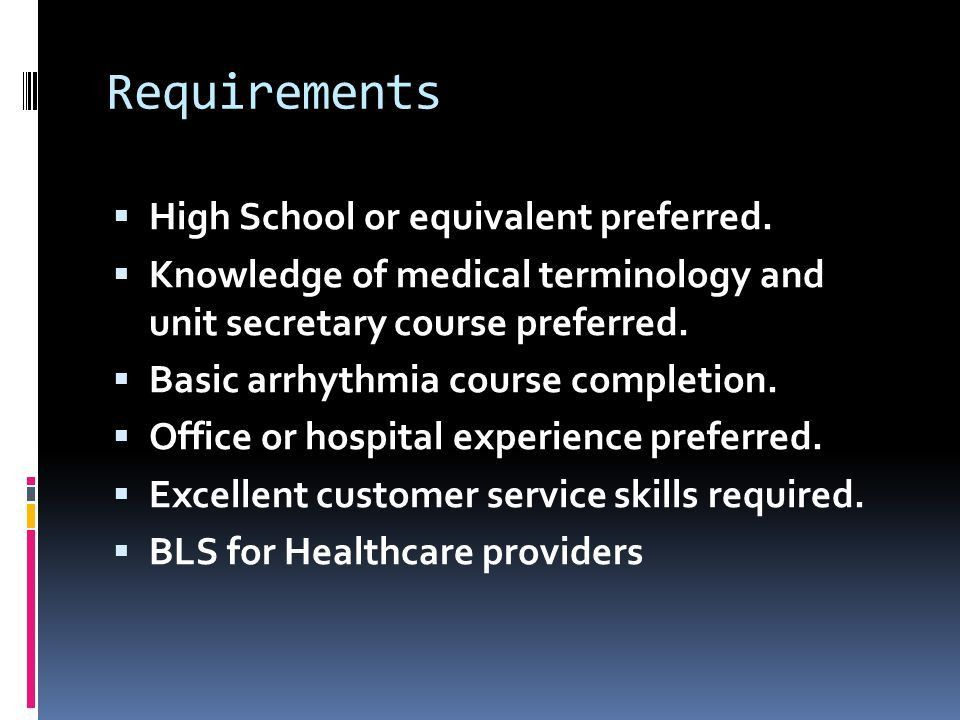 Paid Clinical Experience for Pre- Professional Students by William ...