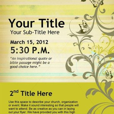 Public Event Flyer Template Archives - Word Templates