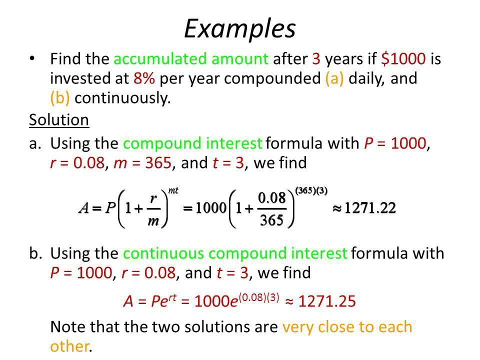 4 Mathematics of Finance Compound Interest Annuities - ppt video ...
