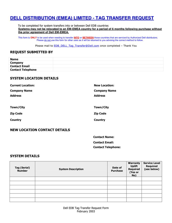 Packing Slip in Word and Pdf formats