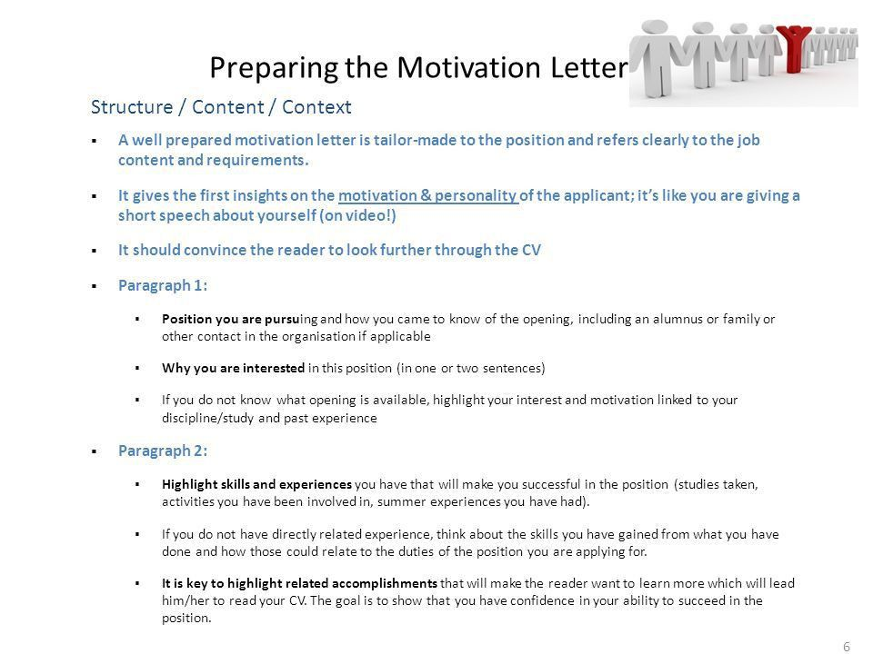 CV & Motivation Letter Workshop 1 1st March 2014 Christina LIM, VP ...