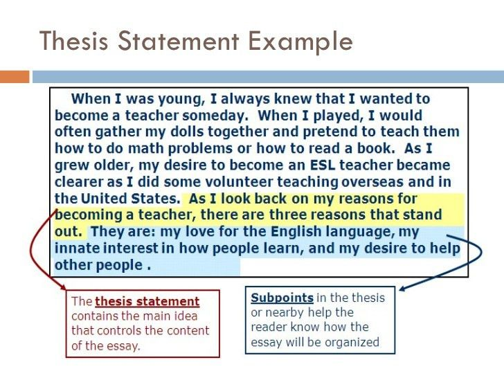 how to write a thesis statement for a essay thesis statement ...