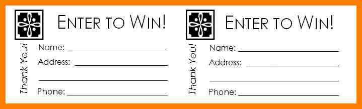 Raffle Ticket Template. Pin Printable Blank Raffle Tickets ...