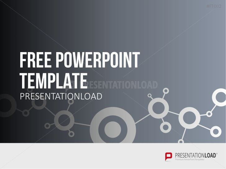 PresentationLoad | Free PowerPoint Template Network Concept