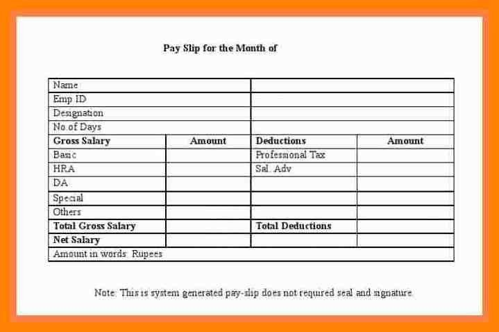 Free Payslip Download 48 . tcs payslip #74. simple weekly ...