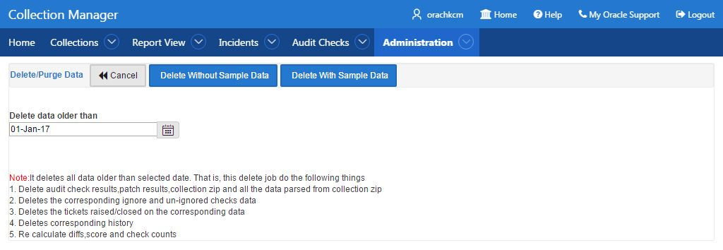 Oracle Health Check Collections Manager for Oracle Application ...