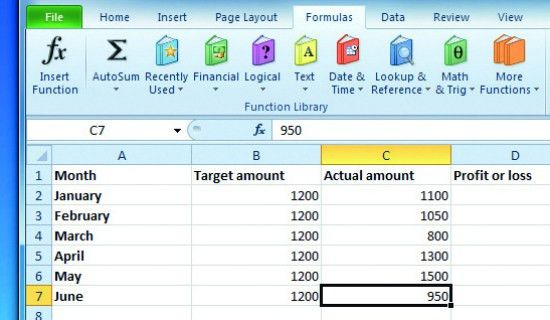 How to use conditional formula in Excel