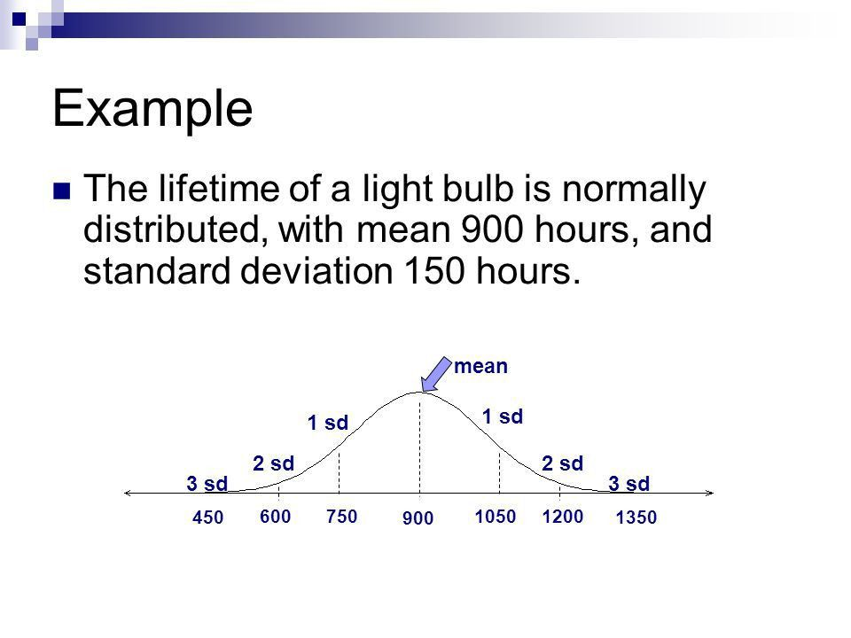 And standard deviation - ppt video online download